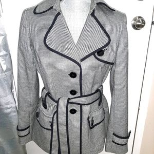 Very cool nine west belted jacket